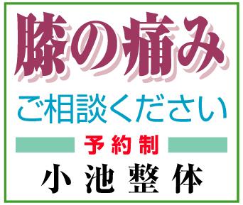 オリジナルの施術~「小池整体」※長野県