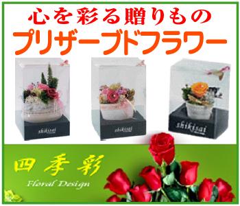 「フローラルデザイン~四季彩」※広島県