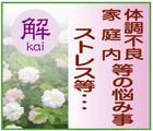 霊視でお悩み相談~「解(kai)」※高知県