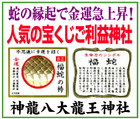 蛇の縁起で金運上昇~「神龍八大龍王神社」※熊本県