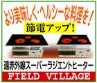 より美味・ヘルシーな料理~「FIELD VILLAGE」※愛媛県